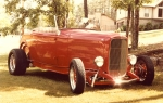 Jimmy Ray's 1932 Ford Roadster, built from the ground up.