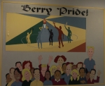 The Current Berry Lunchroom Wall Shows The 'Berry Pride'